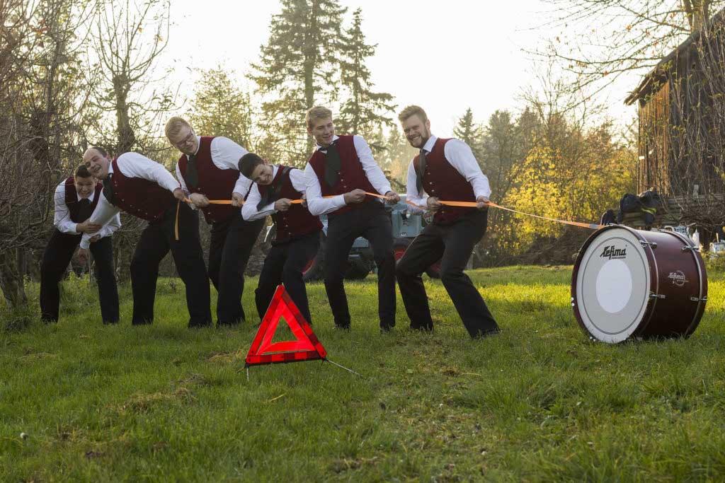 Bild der Schlagzeuger